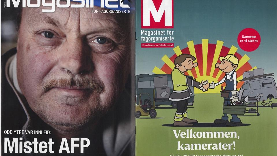 magasinet for fagorganiserte