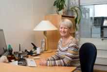 Sekretær Elisabeth Berg Pronkow