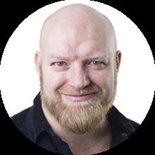 Ole Petter Nyhaug, kreativ leder og partner i Opinion AS